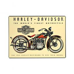 Harley-Davidson® 74 Big Twin Tin Sign