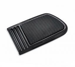 Harley-Davidson® Brake Pedal Pad | Defiance Black Anodized | Large