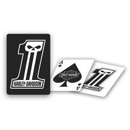 Harley-Davidson® Dark Custom™ Playing Cards