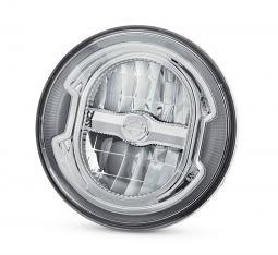 "Harley-Davidson® Daymaker™ Signature Reflector LED Headlamp | Chrome 5.75"""