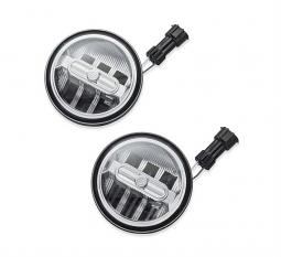 """Harley-Davidson® Daymaker™ Signature Reflector LED Auxiliary Lamps 