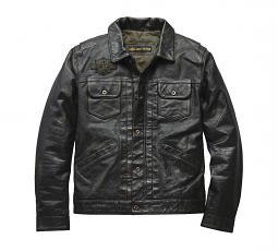 Harley-Davidson® Men's Digger Casual Leather Jacket   Slim Fit