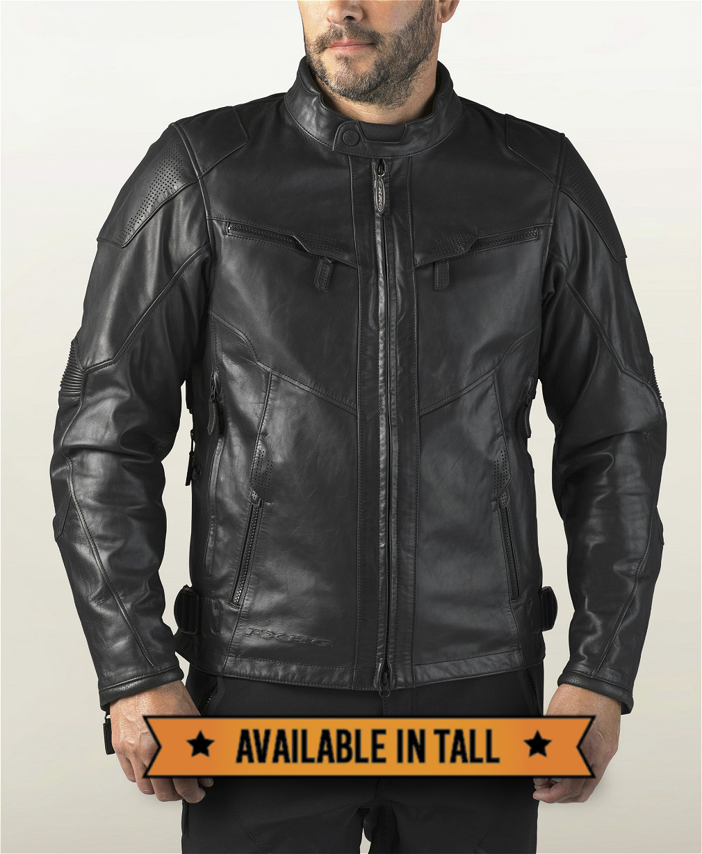 Harley-Davidson® Men's FXRG® Waterproof Leather Jacket | Triple Vent System™ | CoolCore® Technology