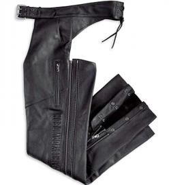 Harley-Davidson® Men's Deluxe Leather Chap