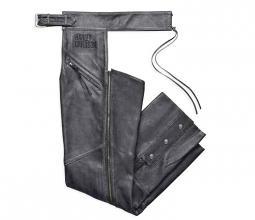 Harley-Davidson® Men's Distressed Leather Chap