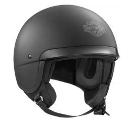 Harley-Davidson® Unisex Hightail 5/8 Helmet | Bar & Shield® | Matte Black