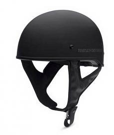 Harley-Davidson® Men's Overdrive Low Profile Half Helmet   Matte Black