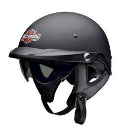 Harley-Davidson® Men's Pioneer Sun Shield Half Helmet