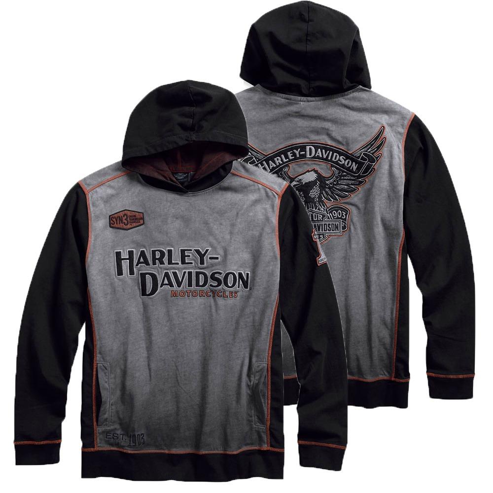 Harley-Davidson® Men's Iron Block Pullover Hoodie