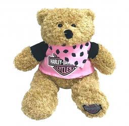 Harley-Davidson® Large Stuffed Plush Bear | Babe
