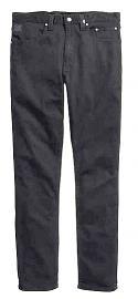 Harley-Davidson® Men's Slim Fit Black Label Jeans in Saturated Black