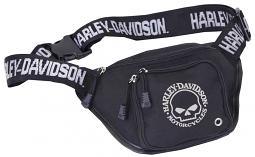 Harley-Davidson® Willie G® Skull Belt Bag | Water Resistant
