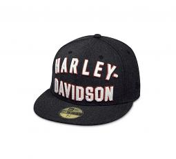 Harley-Davidson® Men's Chain Stitch 59FIFTY® Baseball Cap