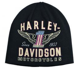 Harley-Davidson® Men's #1 Winged Knit Hat