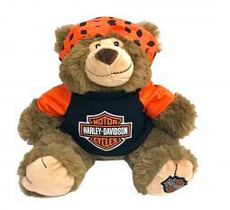 Harley-Davidson® Large Stuffed Plush Bear | Big Ed