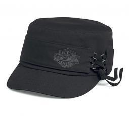 Harley-Davidson® Women's Laced Flat Top Cap