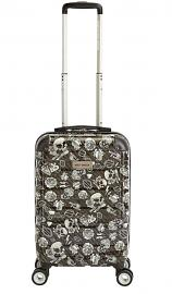 Harley-Davidson® Chrome II | Wheeled Carry-On Luggage | Molded Hard Case | 21 Inch | Grey Tattoo