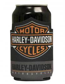 Harley-Davidson® Classic Bar & Shield® Flat Can Wrap | Neoprene | Koozie®