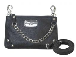Harley-Davidson® Women's Chain Gang Leather Hip Bag | Detachable Strap