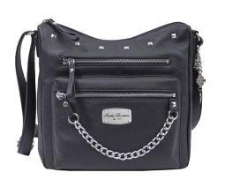 Harley-Davidson® Women's Chain Gang Leather Hobo   Adjustable Shoulder Strap
