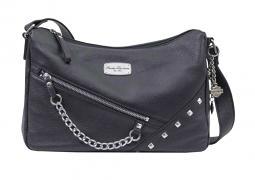 Harley-Davidson® Women's Chain Gang Leather Shoulder Bag