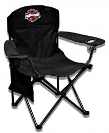 Harley-Davidson® Extra Large Folding  Bar & Shield® Camp Chair