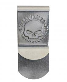 Harley-Davidson® Men's Metal Money Clip | Willie G® Skull