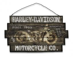 Harley-Davidson® 1903 Hanging Wooden Sign