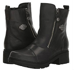 Harley-Davidson® Women's Amherst Lifestyle Boots | Dual Zippers