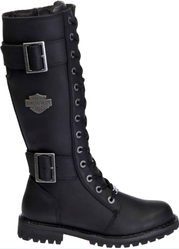 Harley-Davidson® Women's Belhaven Motorcycle Riding Boots | Black