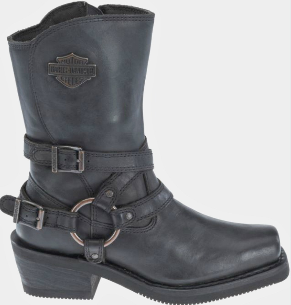 Harley-Davidson® Women's Ingleside Motorcycle Riding Boots | Black Leather
