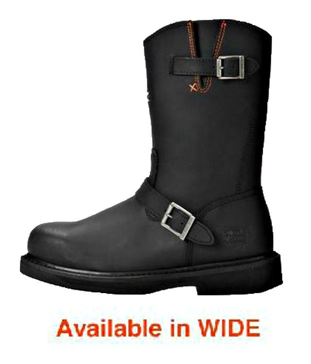 Harley-Davidson® Men's Jason Leather Steel Toe   Safety Work Boots