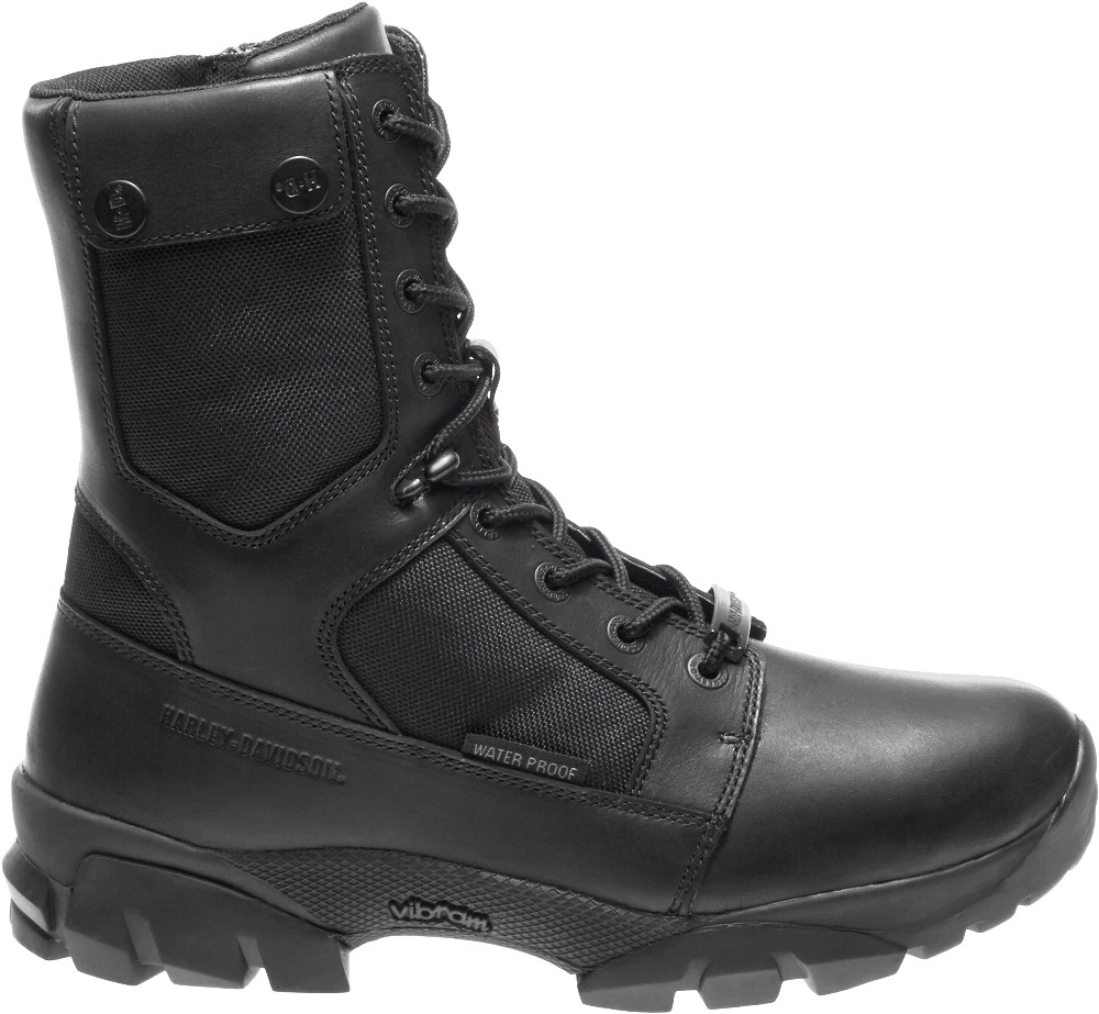 Harley-Davidson® Men's Britford Waterproof Motorcycle Riding Boots | Vibram® Outsole