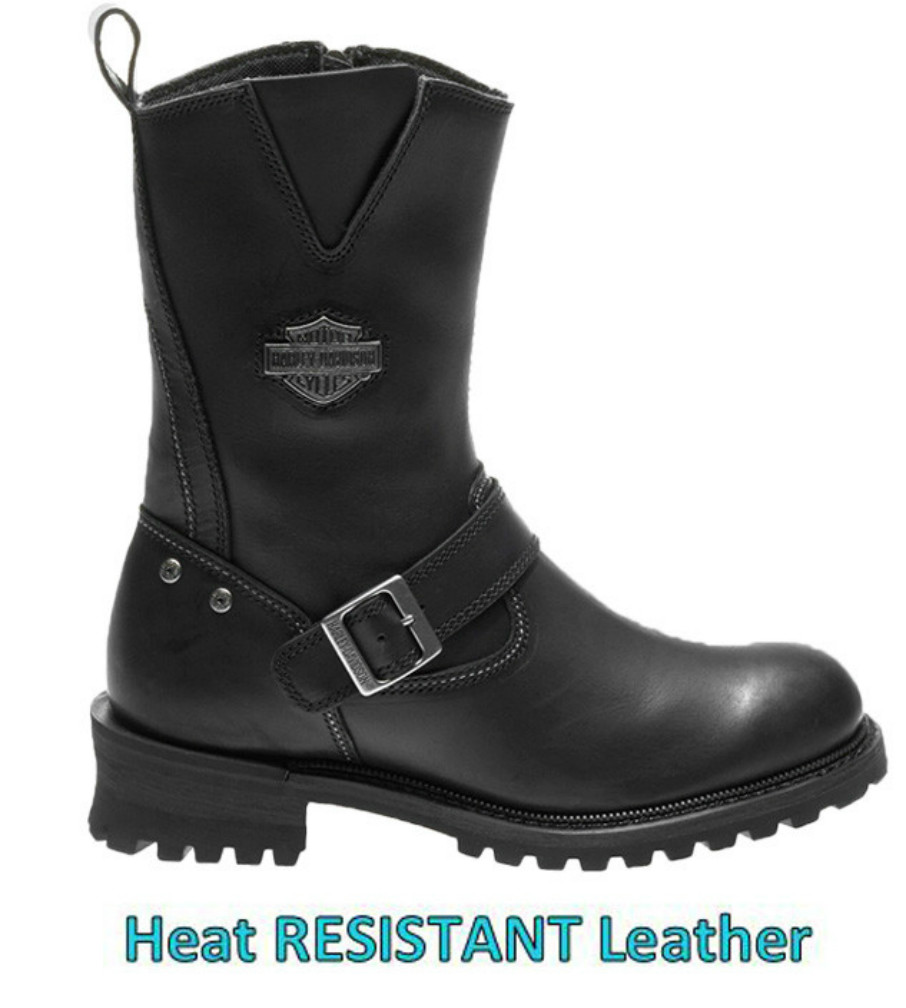 Harley-Davidson® Men's Bladen Motorcycle Riding Boots | TFL Cool Systems Technology | Meets European PPE Standards