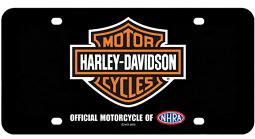 Harley-Davidson® Metal 3-D License Plate   Bar & Shield®