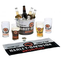 Harley-Davidson® Forged In Iron Party Bucket Set | Six Piece Set