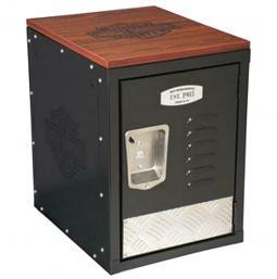 Harley-Davidson® Bar & Shield® Metal Storage Unit   Extra Seating
