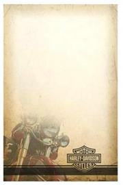 Harley-Davidson® Motorcycle Bar & Shield® Note Pad   50 pages