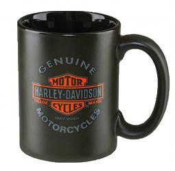 Harley-Davidson® Genuine Motorcycles Coffee Mug   Long Bar & Shield®