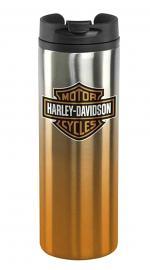 Harley-Davidson® Bar & Shield® Travel Mug   Stainless Steel