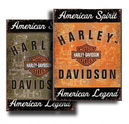 Harley-Davidson® American Spirit American Legend Sign