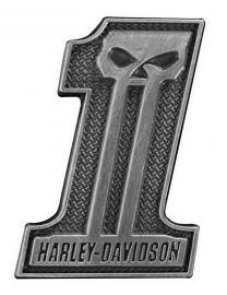 Harley-Davidson® #1 Skull Pin