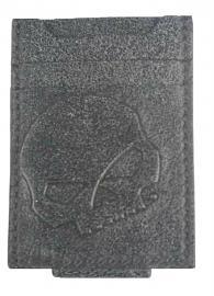Harley-Davidson® Men's Skull Front Pocket Wallet | Secure Magnetic Clip