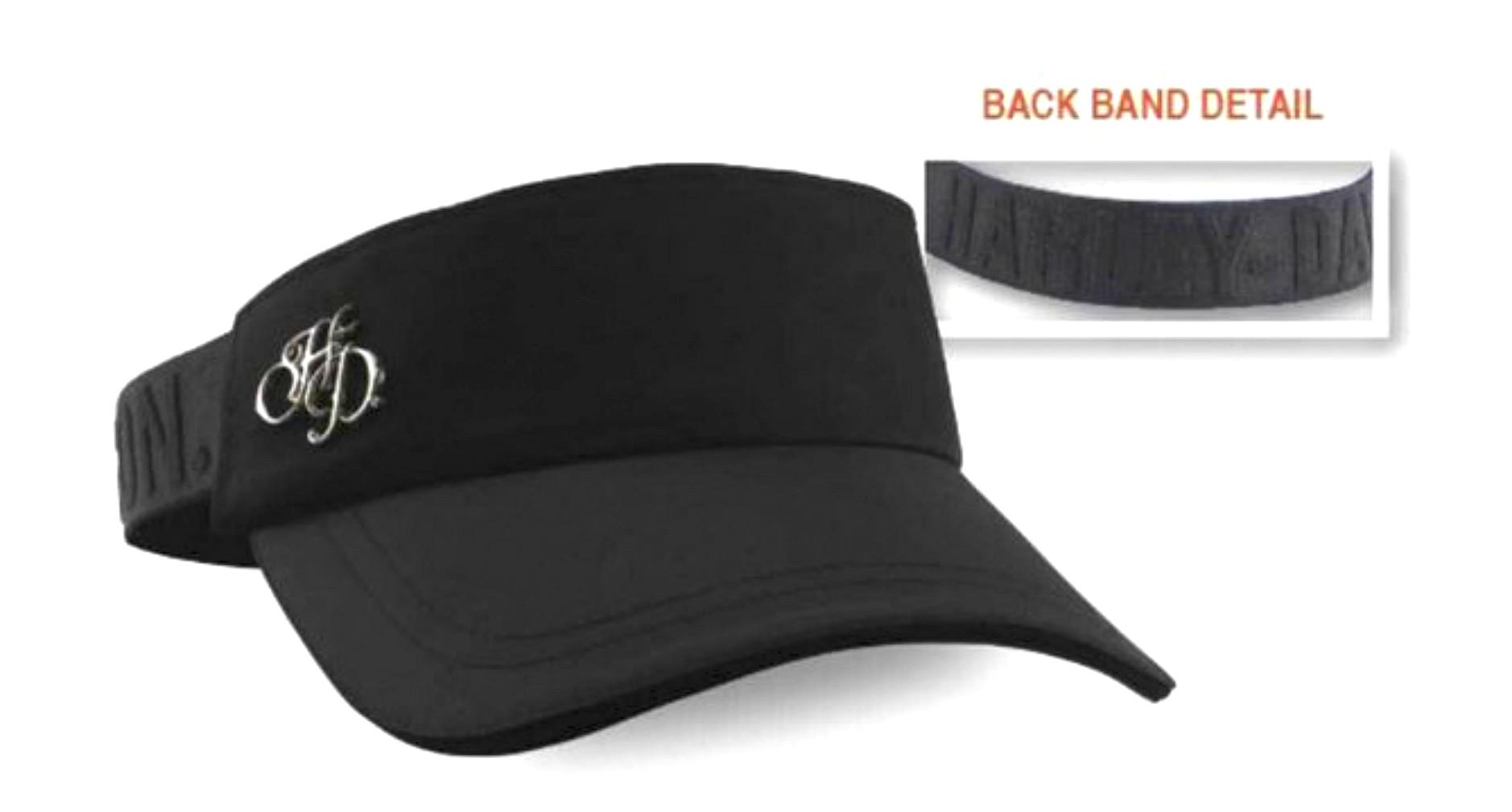 Harley-Davidson® Women's H-D® Sport Visor | Elastic Back