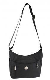 Harley-Davidson® Women's World Tour Collection Everyday Hobo Handbag   Detachable Interior Pouch