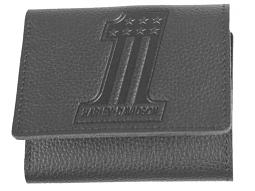 Harley-Davidson® Men's Embossed #1 Tri-Fold Wallet | Zip Coin Pocket