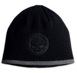 Harley-Davidson® Men's Circle Skull Knit Cap