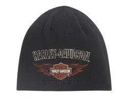 Harley-Davidson® Reversible Flame Knit Hat