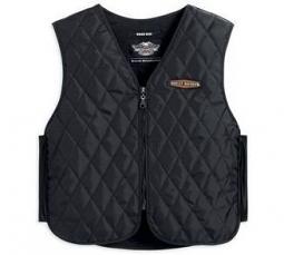 Harley-Davidson® Men's Quilted Black Hydration Vest