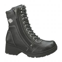 Harley-Davidson® Women's Tessa Leather Combat Lifestyle Boots